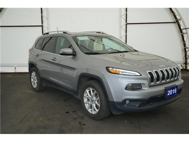 2016 Jeep Cherokee North (Stk: 1614961R) in Thunder Bay - Image 1 of 11