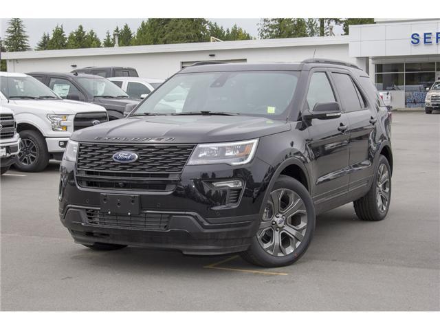 2018 Ford Explorer Sport (Stk: 8EX6369) in Surrey - Image 3 of 28