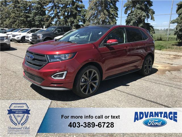 2018 Ford Edge Sport (Stk: J-317) in Calgary - Image 1 of 6