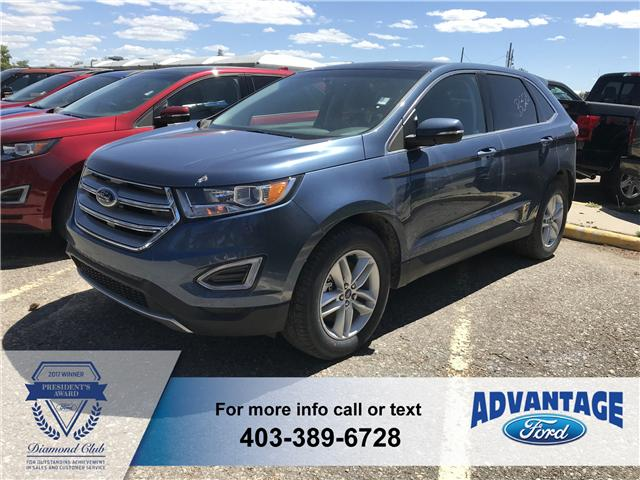 2018 Ford Edge SEL (Stk: J-728) in Calgary - Image 1 of 6