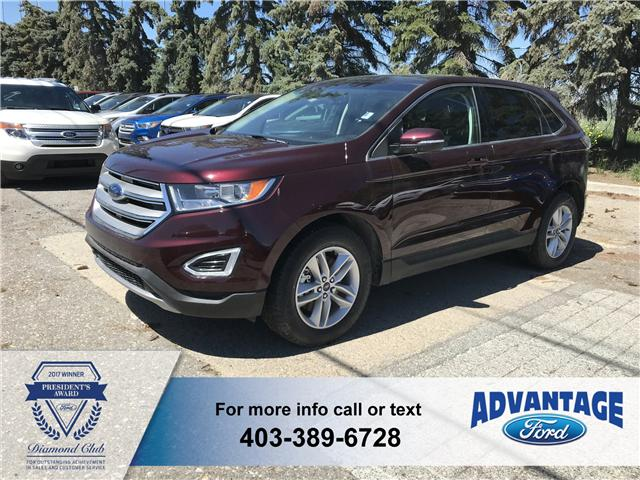 2018 Ford Edge SEL (Stk: J-729) in Calgary - Image 1 of 6