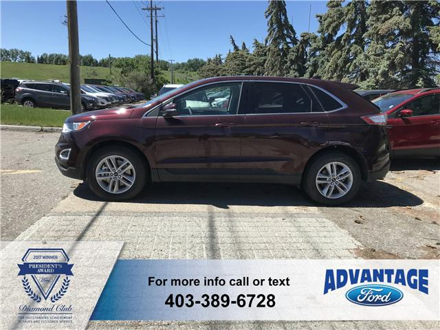2018 Ford Edge SEL (Stk: J-729) in Calgary - Image 2 of 6