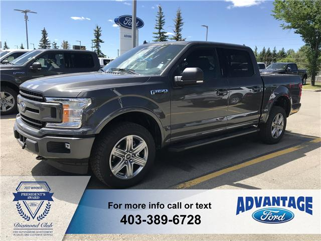 2018 Ford F-150 XLT (Stk: J-1218) in Calgary - Image 1 of 5