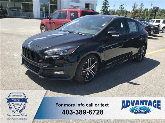 2018 Ford Focus ST Base (Stk: J-1457) in Calgary - Image 1 of 6