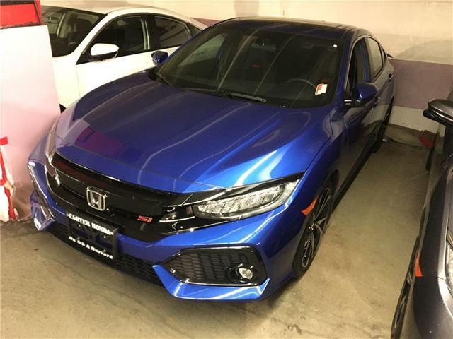 2017 Honda Civic Si (Stk: 3H06270) in Vancouver - Image 1 of 4
