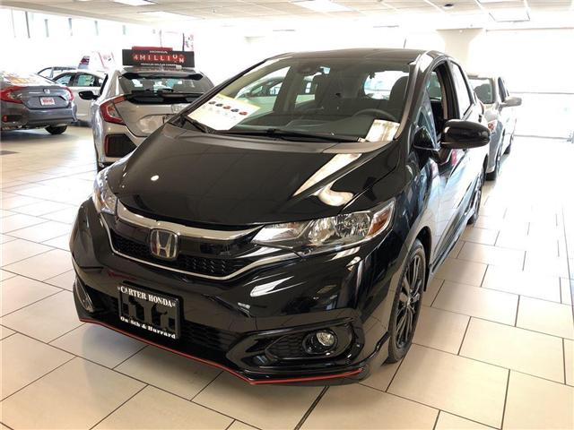 2018 Honda Fit Sport (Stk: FJ00490) in Vancouver - Image 1 of 4