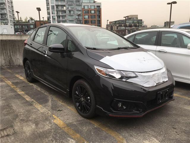 2018 Honda Fit Sport (Stk: FJ00540) in Vancouver - Image 2 of 4