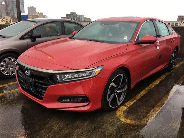 2018 Honda Accord Sport (Stk: 6J09770) in Vancouver - Image 1 of 4