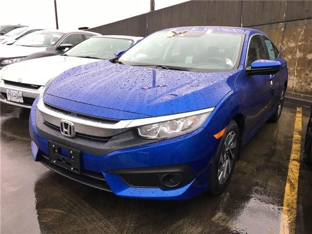 2018 Honda Civic EX (Stk: 3J37220) in Vancouver - Image 1 of 4