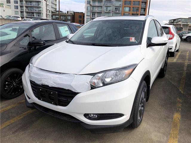 2018 Honda HR-V EX-L (Stk: 7J55860) in Vancouver - Image 1 of 4
