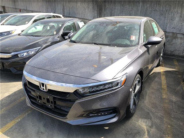 2018 Honda Accord Touring (Stk: 6J45010) in Vancouver - Image 1 of 4