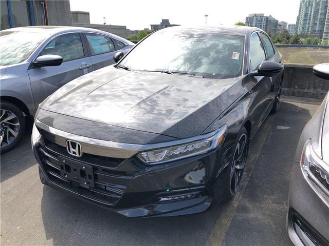 2018 Honda Accord Sport (Stk: 6J69560) in Vancouver - Image 1 of 4