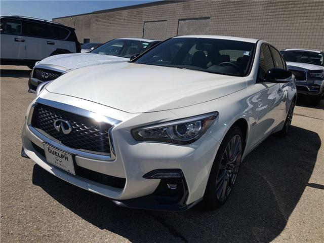 2018 Infiniti Q50 Red Sport 400 (Stk: I6457) in Guelph - Image 1 of 5