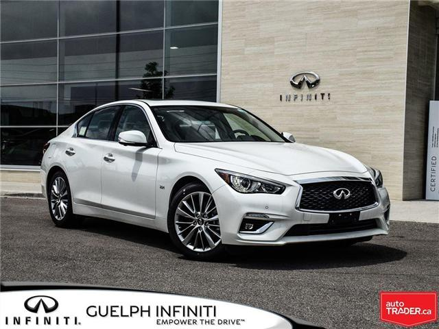 2018 Infiniti Q50 3.0t LUXE (Stk: I6517) in Guelph - Image 1 of 22