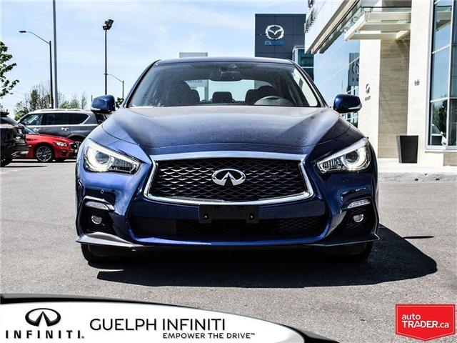 2018 Infiniti Q50 3.0T Sport (Stk: I6650) in Guelph - Image 2 of 23