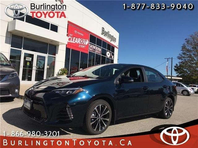 2018 Toyota Corolla SE (Stk: 182005) in Burlington - Image 1 of 17