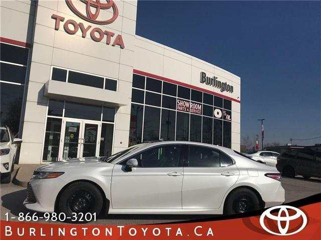2018 Toyota Camry XLE (Stk: 183035) in Burlington - Image 1 of 17