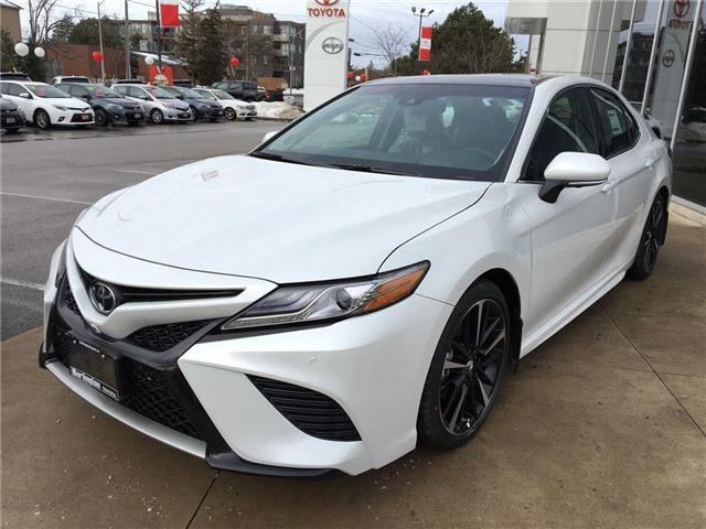 2018 Toyota Camry XSE V6 (Stk: 183060) in Burlington - Image 1 of 5
