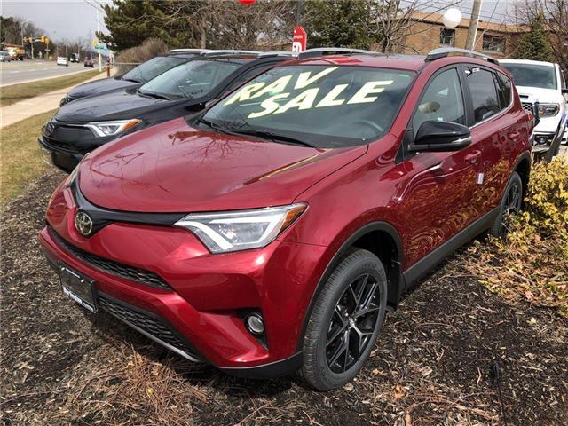 2018 Toyota RAV4 SE (Stk: 188149) in Burlington - Image 1 of 5