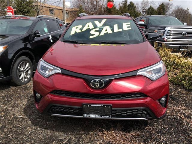 2018 Toyota RAV4 SE (Stk: 188149) in Burlington - Image 2 of 5