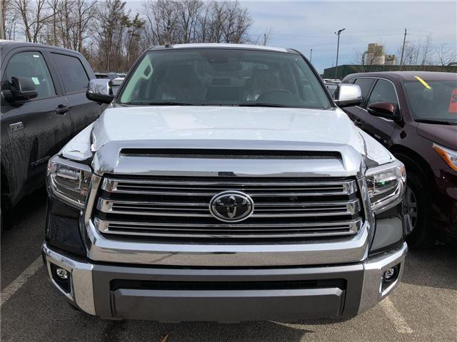 2018 Toyota Tundra Platinum 5.7L V8 (Stk: 184032) in Burlington - Image 2 of 5