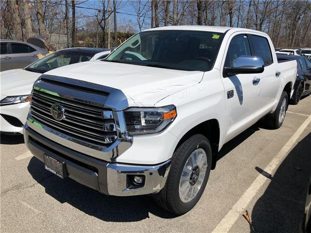 2018 Toyota Tundra Platinum 5.7L V8 (Stk: 184036) in Burlington - Image 1 of 5