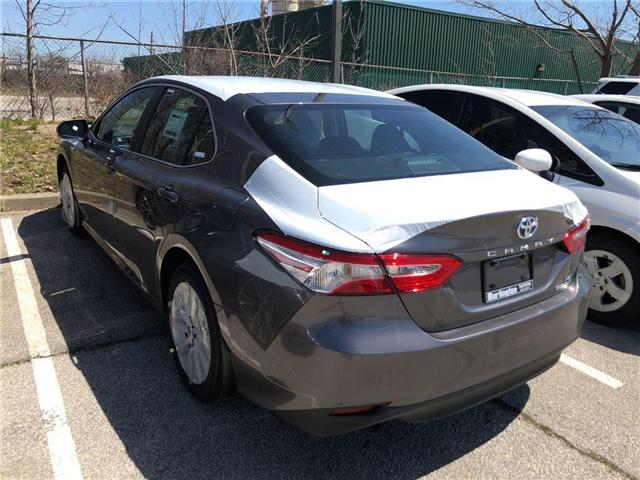 2018 Toyota Camry Hybrid LE (Stk: 183133) in Burlington - Image 2 of 5