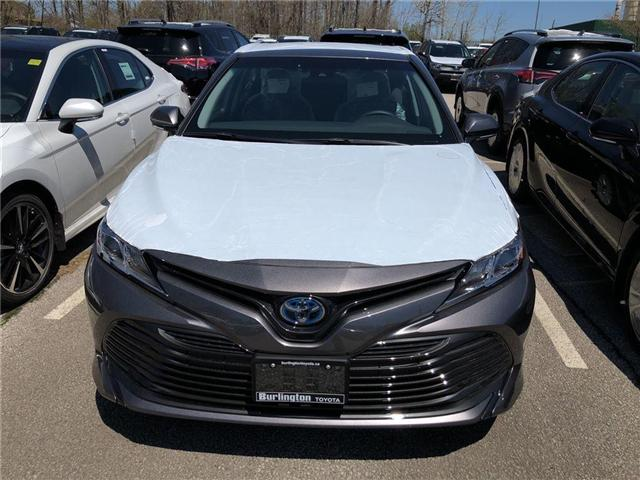 2018 Toyota Camry Hybrid LE (Stk: 183137) in Burlington - Image 2 of 5