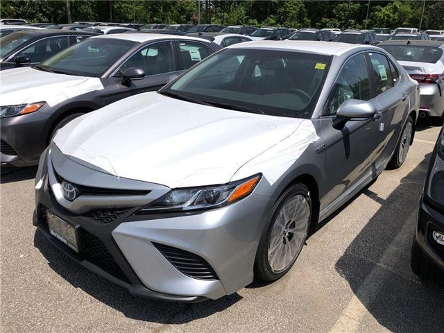 2018 Toyota Camry Hybrid SE (Stk: 183139) in Burlington - Image 1 of 5