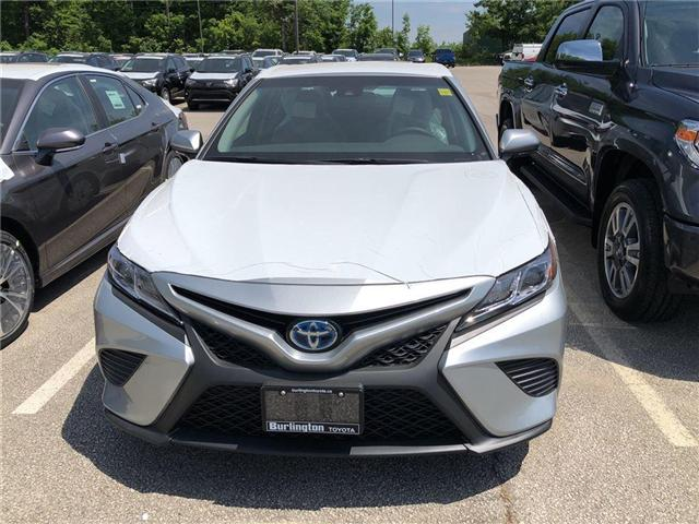 2018 Toyota Camry Hybrid SE (Stk: 183139) in Burlington - Image 2 of 5