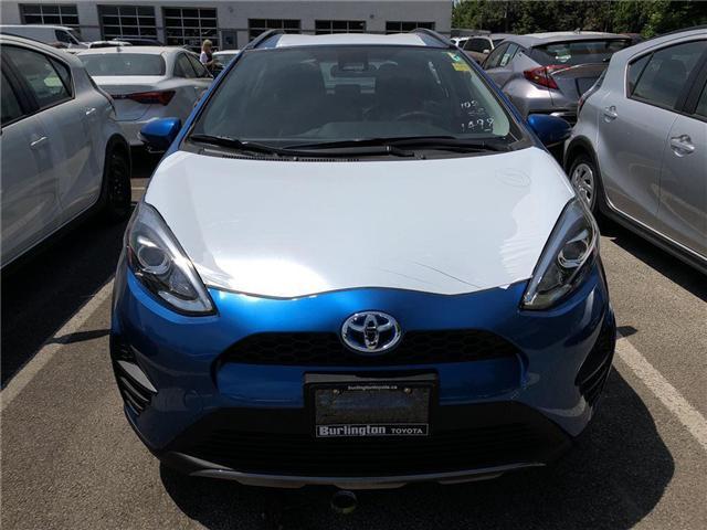 2018 Toyota Prius c Base (Stk: 187034) in Burlington - Image 2 of 5