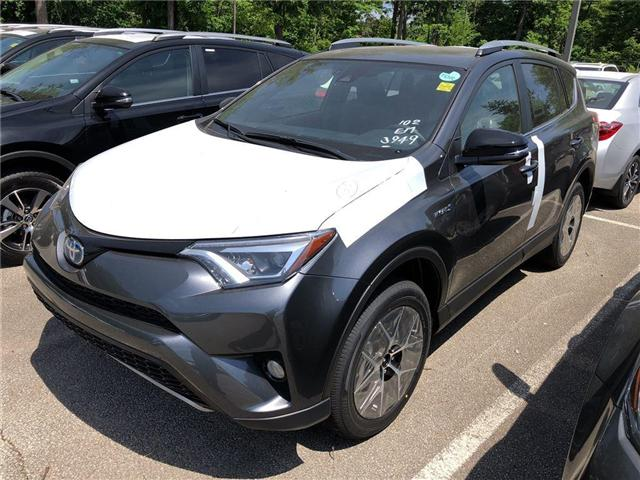 2018 Toyota RAV4 Hybrid SE (Stk: 188303) in Burlington - Image 1 of 5