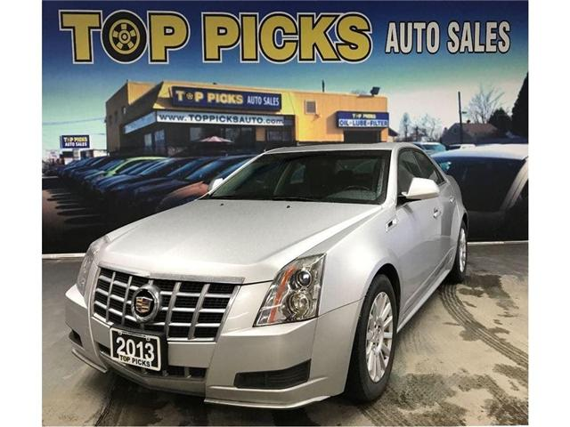 2013 Cadillac Cts Base Awd Leather Sunroof Premium Wheels Low