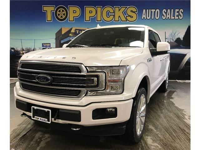 2018 Ford F-150 Platinum (Stk: 58190) in NORTH BAY - Image 1 of 21