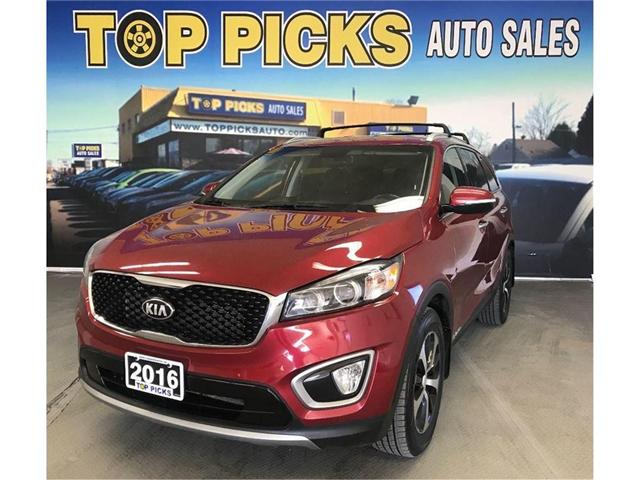 2016 Kia Sorento 3.3L EX+ (Stk: 029788) in NORTH BAY - Image 1 of 19