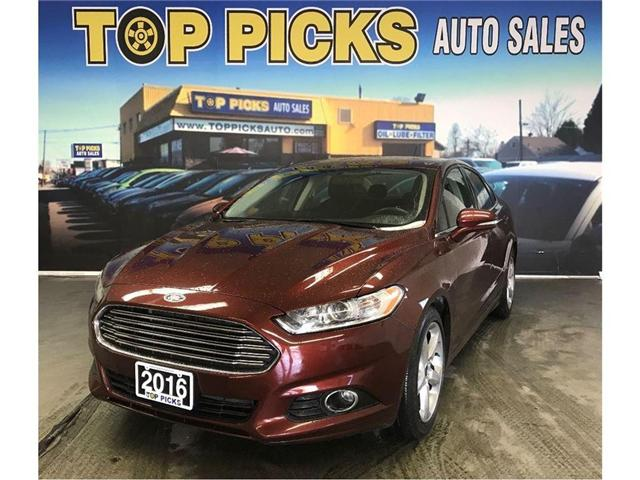 2016 Ford Fusion SE (Stk: 208476) in NORTH BAY - Image 1 of 18