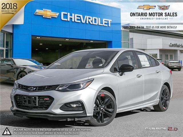 2018 Chevrolet Cruze LT Auto (Stk: 8114196) in Oshawa - Image 1 of 18