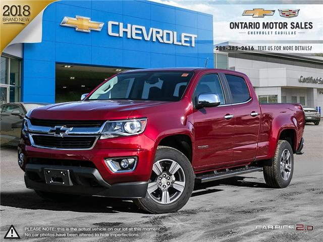 2018 Chevrolet Colorado LT (Stk: T8170351) in Oshawa - Image 1 of 18