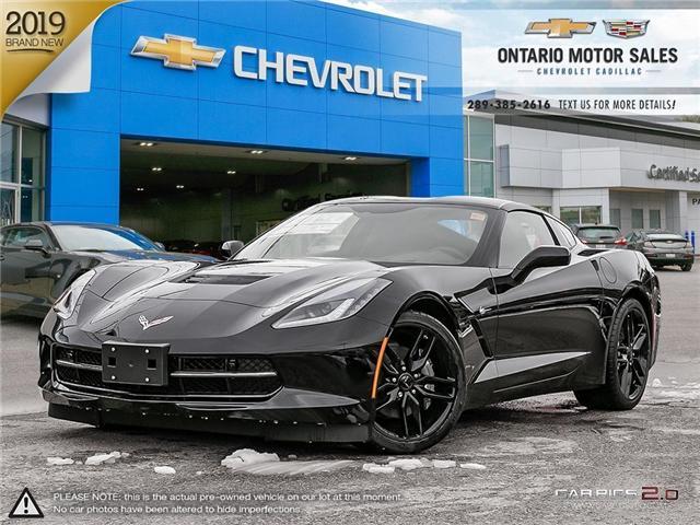 2019 Chevrolet Corvette Stingray (Stk: 9103094) in Oshawa - Image 1 of 18