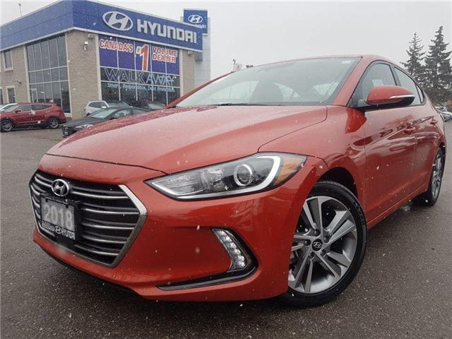 2018 Hyundai Elantra SE-GLS Sunroof-Alloy Rims in great condition..! (Stk: OP9798) in Mississauga - Image 1 of 18