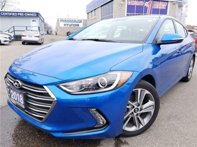 2018 Hyundai Elantra GLS AS NEW GREAT DEAL..!! (Stk: op9614) in Mississauga - Image 1 of 20
