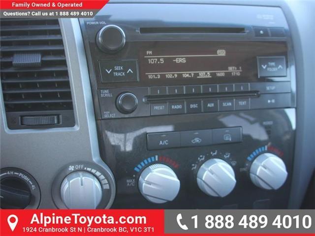 2010 Toyota Tundra SR5 5.7L V8 (Stk: S531588A) in Cranbrook - Image 13 of 18
