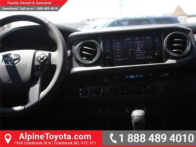2018 Toyota Tacoma SR5 (Stk: X035604) in Cranbrook - Image 9 of 18