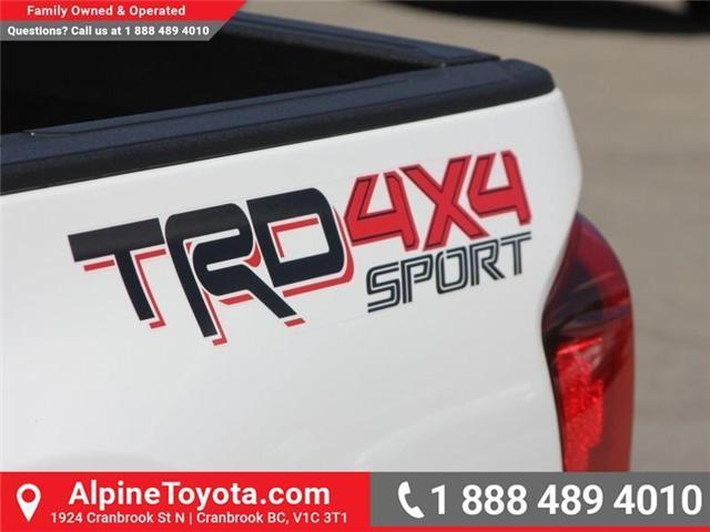 2018 Toyota Tacoma SR5 (Stk: X035604) in Cranbrook - Image 17 of 18