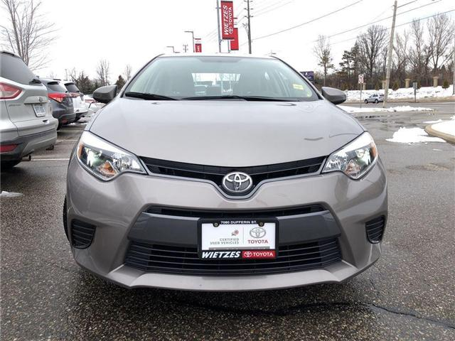 2015 Toyota Corolla LE (Stk: U1646) in Vaughan - Image 7 of 19
