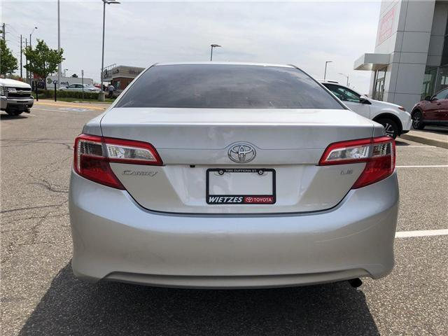 2013 Toyota Camry LE (Stk: U1732) in Vaughan - Image 4 of 19