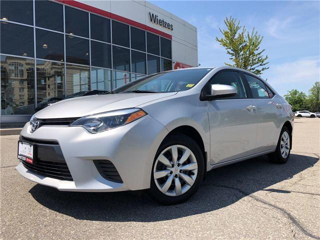 2015 Toyota Corolla LE (Stk: U1725) in Vaughan - Image 1 of 20