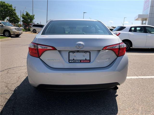 2015 Toyota Corolla LE (Stk: U1725) in Vaughan - Image 4 of 20