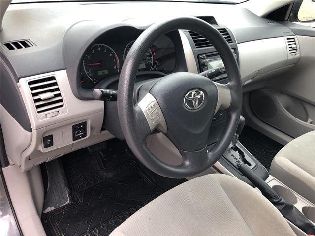 2013 Toyota Corolla CE (Stk: U1762) in Vaughan - Image 9 of 20