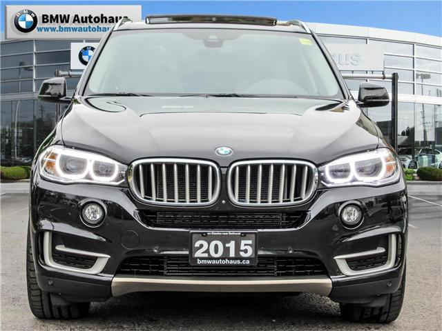 2015 BMW X5 xDrive35i (Stk: P8356) in Thornhill - Image 2 of 28